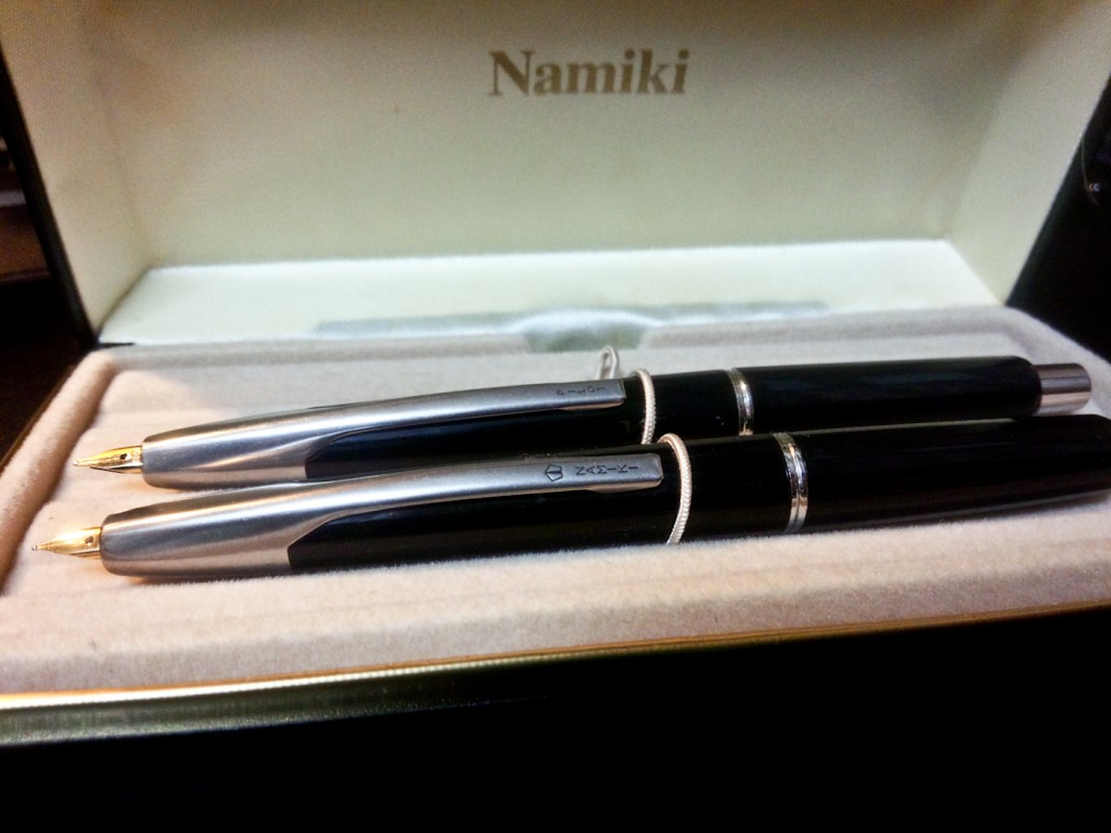 The Namiki and the Pilot. Only the names have changed.