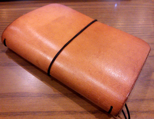 The Quad Cover's leather has aged well.